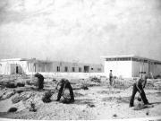 Budowa centrum Pamięci Hannah Senesz, 1950, Izrael.