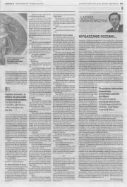 """Druga część artykułu V.Szostak """"W co grają przy Żydowskiej?"""" (GW, 26.06.2015)"""