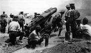 Brytyjska armata 60. funntowa w bitwie pod Gallipoli (wiki)