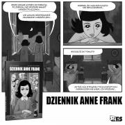 """""""Dziennika Anne Frank"""", powieść graficzna, Wydawnictwo Stapis"""
