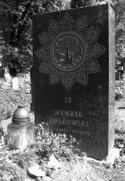 Grób Halkowskiego na cmentarzu przy ulicy Miodowejw Krakowie.