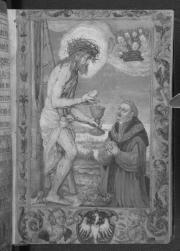 Miniatura z Modlitewnika Zygmunta I Starego, którego oryginał znajduje się obecnie w British Library