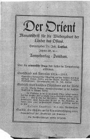 Orient - czasopismo o Ormianach