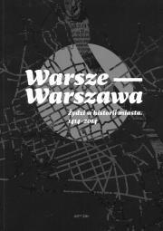 """Żydowska Warszawa (rec., """"Warsze-Warszawa"""")"""