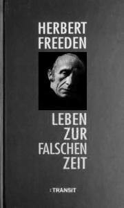 Życie w niewłaściwym czasie. Herbert Friedenthal (Freeden )
