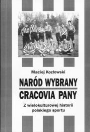 """Piłka z gwiazdą Dawida (rec. Maciej Kozłowski, """"Naród wybrany Cracovia pany"""")"""