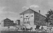 Niemiecki Teatr Miejski w Poznaniu na którego scenie występwował Ludwig Dessoir